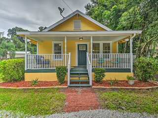 NEW! Family Home: Walk to Downtown & Stetson Univ!