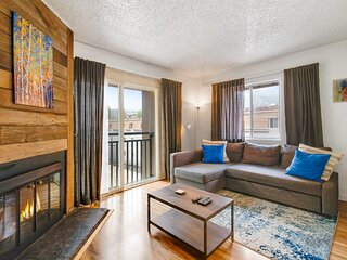 Cozy 1 BDR Condo - Heart of Main St; Walk to Lifts
