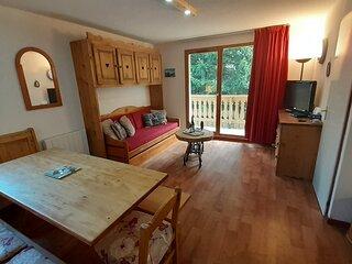 Joli 2 pieces + cabine 6 personnes de 37 m2