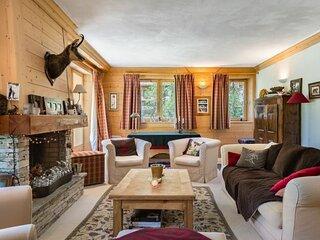 Les Danaides : Charmant appartement traditionnel, skis aux pieds