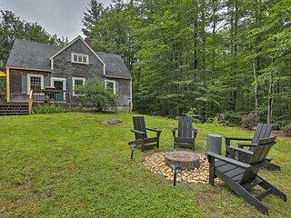 NEW! Charming Cottage w/ Mount Monadnock Views!