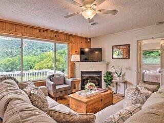 Splendid Asheville Area Cabin w/ Mt Pisgah Views!