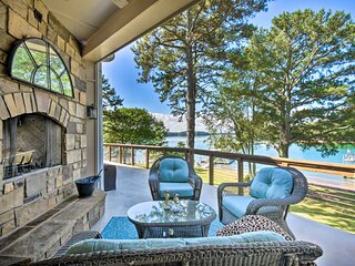NEW! Gainesville Lake Getaway with 2-Story Dock!