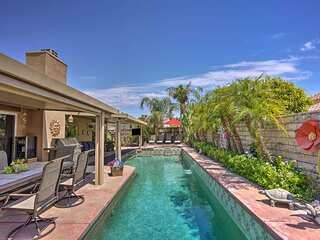 NEW! 4BR La Quinta Haven with 2 Fire Pits & Patio!