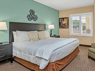 Near Disney - 1BR Executive Suite with King Bed - Pool and Hot Tub!