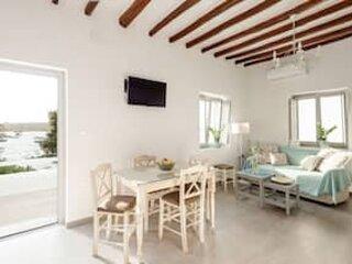 Marousso's Seafront House, alquiler de vacaciones en Aliki
