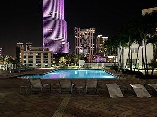 2 floor Miami city view private condo high rise !!!!