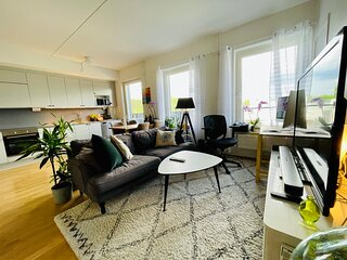 Charming apt, close to nature, 13 min from Stockholm City