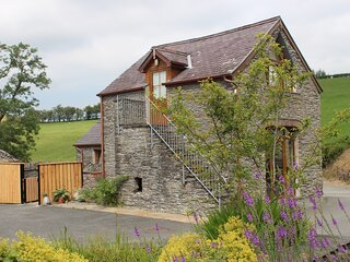 Carthouse Cottage with hot tub near Devil's Bridge, mid Wales