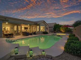 NEW! Phoenix Area Home: Pool & Spa, on Golf Course