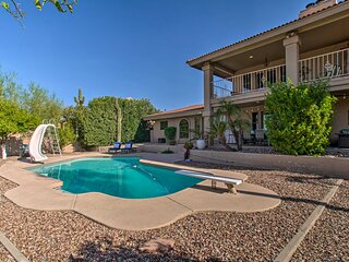 Fountain Hills Luxe Desert Oasis w/ Mtn Views