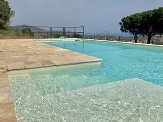 Antique Villa with private pool and breataking view