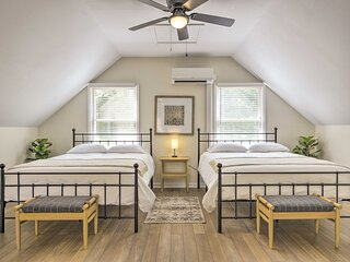 NEW! Relaxing Raleigh Retreat: Studio w/ Fire Pit!