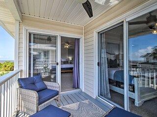 NEW! Elegant Tybee Island Townhome, Steps to Beach
