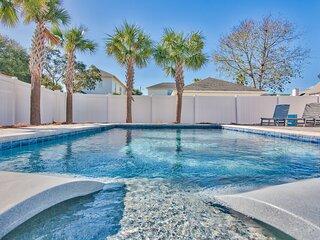 Crystal Palms | LUXURY Heated Pool | Steps To Beach