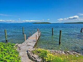 NEW! Winnipesaukee Lakefront Home w/ Dock + Views!