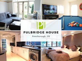 ★ Fulbridge House ★ 4 bedroom house with FUN room by Parker Jones