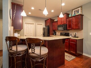3 Bedroom, 2.5 Bathroom Townhouse with Attached Two-Car Garage & Patio with Gril