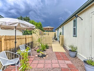NEW! Charming Payton Hideaway w/ Furnished Patio!