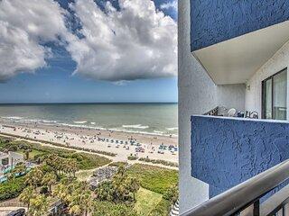 NEW! 10th-Floor Condo on Myrtle Beach w/ Pools!