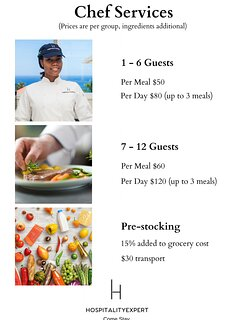 Try our chef service