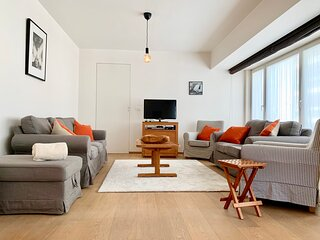 Beautiful appartment in the heart of Knokke for 8 persons