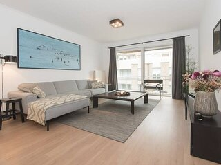 Charming modern apartment 50 meters from beach with private parking