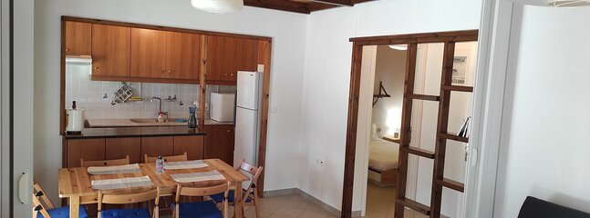 Two bedroom country house, 600m from the beach, vacation rental in Kalamos