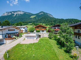 Spacious apartment in Soll with a beautiful view