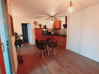 Appartement leCarnot Centre ville avec Piscine