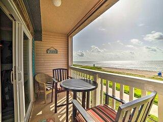 NEW! Oceanfront Corpus Christi Retreat w/ Pool!