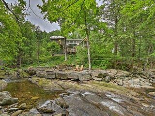 NEW! Beautiful Jay Peak Home By Creek & Waterfalls