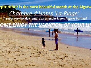 Apartment 'La Plage' Sl.3 Sea view WiFi/Smart TV, Privacy