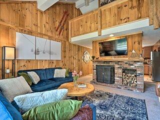 NEW! Relaxing Mountain Refuge - Ski, Hike & Golf!