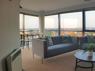 Marconi Plaza: Stunning views over Chelmsford- By Catchpole Stays