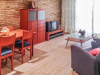 Nice apartment in Playa de Gandía with 2 Bedrooms (EBV098)