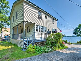 NEW! Historic Lakefront Home: Walk to Weirs Beach!