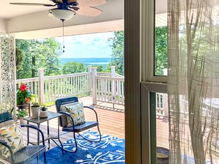 NEW! Updated Home with Lake View Deck and Grill