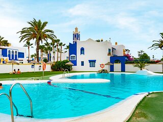 Beautiful home in Roquetas de Mar with 1 Bedrooms and WiFi (EAM073)