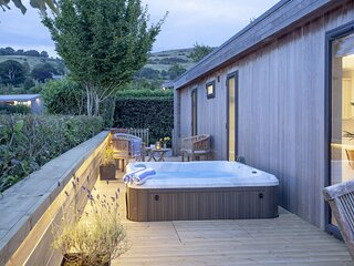 The Willows, Strawberryfield Park - A fabulous eco-lodge with wraparound deck an