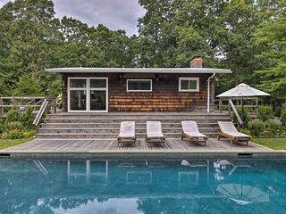 East Hampton Home w/Pool & Fire Pit - Near Village