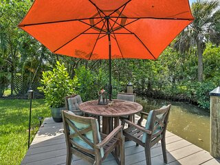 NEW! Canalfront Home w/ Kayaks & On-Site Fishing!