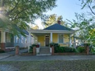 The Sunny Southern Manse Front Walk Downtown