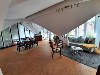 Lovely apartment in Roes with a terrace