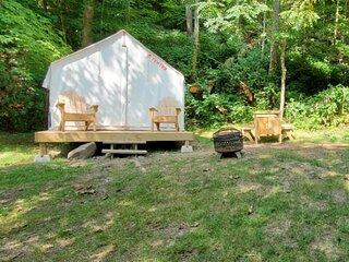 Tentrr State Park Site - WV Hawk's Nest State Park - Site C - Single Camp