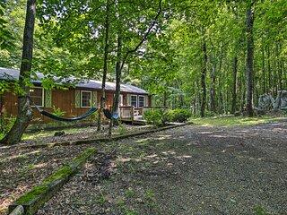NEW! Cabin Hideaway w/ Fire Pit - 20 Mi to Floyd!