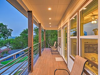 NEW! Luxury Home w/ Game Room: Steps to Lake Fun!