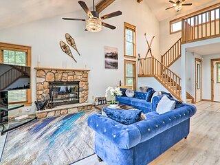 NEW! Modern Home w/ Mountain Views: 1 Mi to Ski!