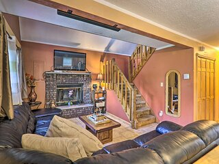 NEW! Family Home w/ Large Deck & Fun-Filled Yard!