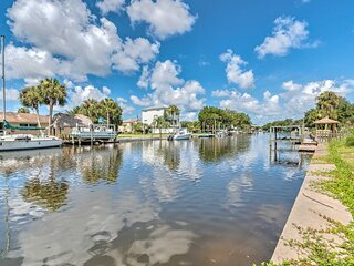 NEW! 'Crystal Clear' Waterfront Home w/ Canal View